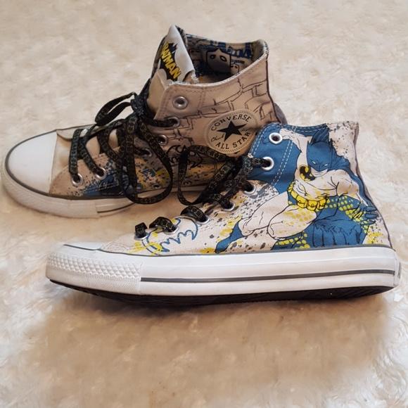 5e0726d92078 Converse Shoes - Converse Chuck Taylor All Star Batman high-tops